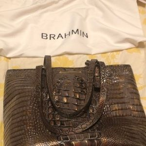 Brahman leather bag